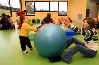 Fysisk lek - barn og voksen