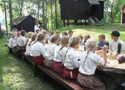 Barn som spiser