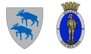 Kommunevåpen til Aremark og Halden