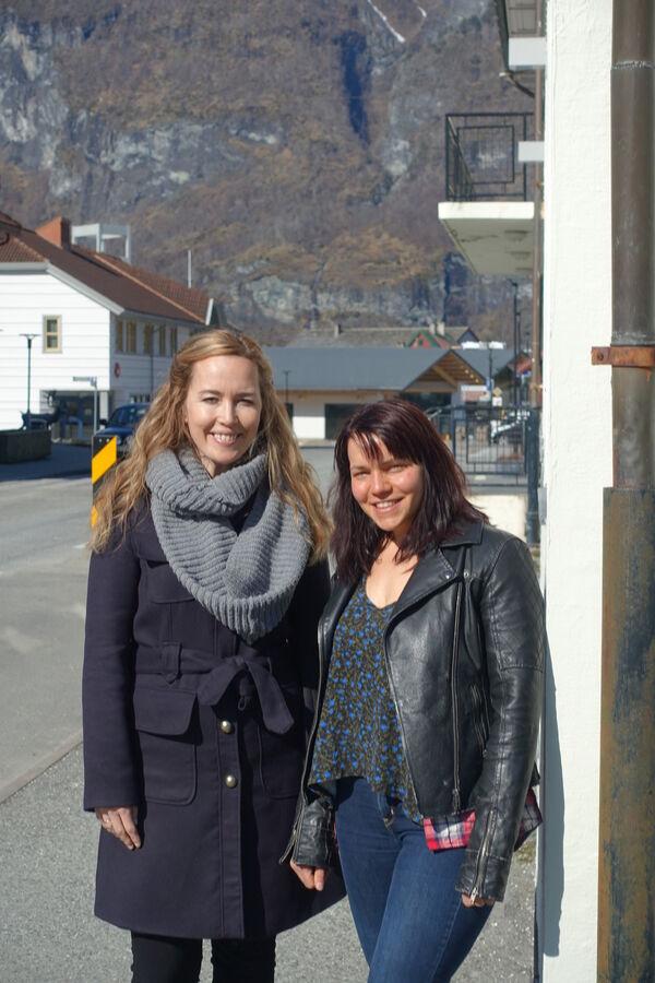 Turid Stigen Sørensen og Linn-Janette  Skarsbø Underdal