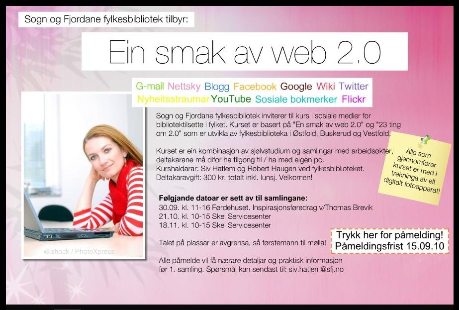 Kurs Ein smak av web 2.0