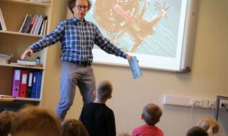 Forfatter Bjørn F. Rørvik i Sandnes (Foto: Stig Brusgaard UDF)