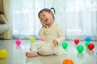 Språk - liten jente