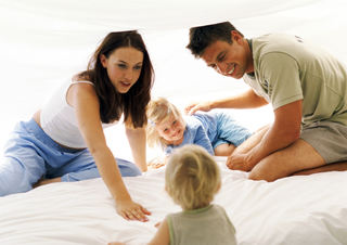 Foreldrepar og små barn