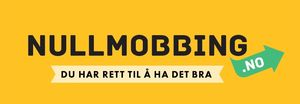 Banner som peker til nullmobbing.no hos Utdanningsdirektoratet