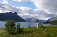 Troms; Outdoor Camping