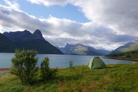 Troms; Outdoor Camping