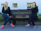 Maylinn Lykken og Anniken Johansen 2