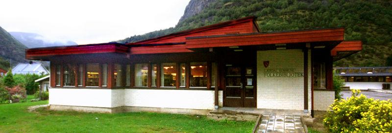 Lærdal kommune, folkebibliotek