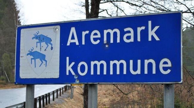 Aeremark-skilt