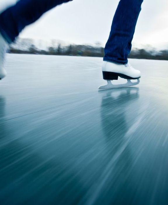 Skøyter på is