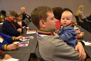 Yngste på samisk foreldrekonferanse