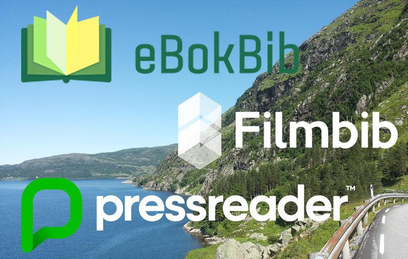 Biblioteka i Sogn og Fjordane gir deg tilgang til fleire digitale tenester.