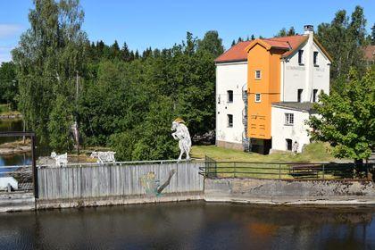 Strømsfoss Mølle - eksteriør