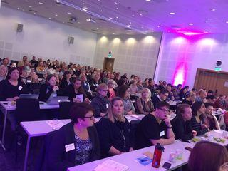 Deltakere FUB-konferanse 2017 plenum