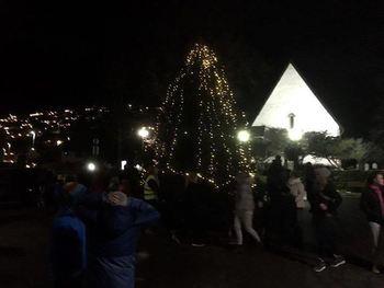 Julegrantenning på Vangen 3. desember 2017