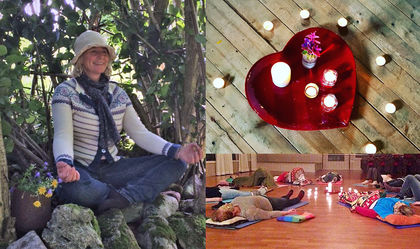 Yoga-collage