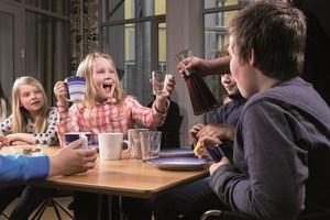 Kreftforeningen - bilde Treffpunkt barn