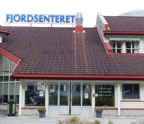 Fjordsenteret - hovudinngang