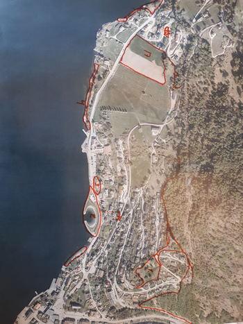 Kartlegging av friluftsområda i Aurland - kart