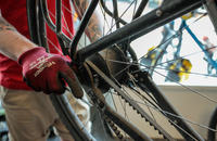 Bike workshop at Tromsø Outdoor