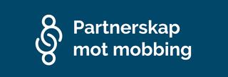 Logo Partnerskap mot mobbing blå