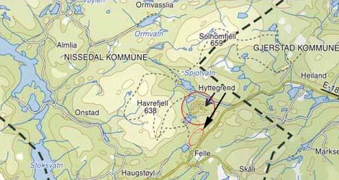 kart nissedal Godt tomtesalg på Havrefjell   Hytteavisen kart nissedal