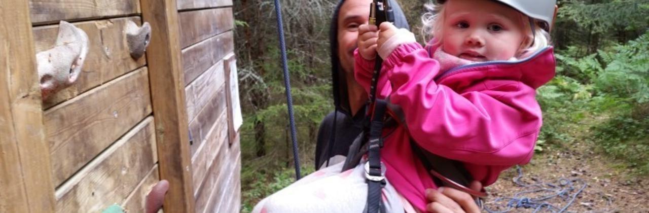 Første klatring