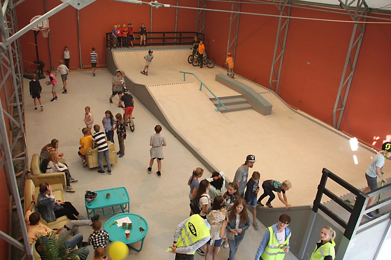 Skatehallen på Kjellerbergsenteret