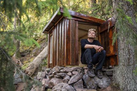forfatter-med-egen-hytte