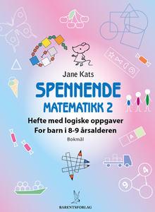 Spennende matematikk2 8-9 år_298x422