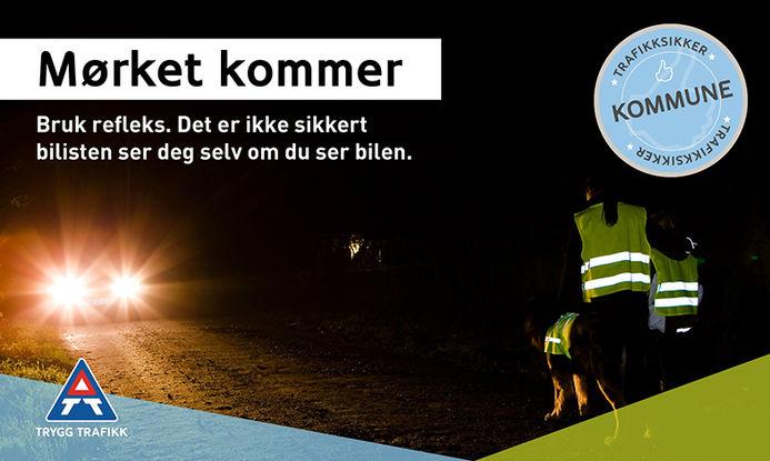 Trafikksikker kommune og refleks