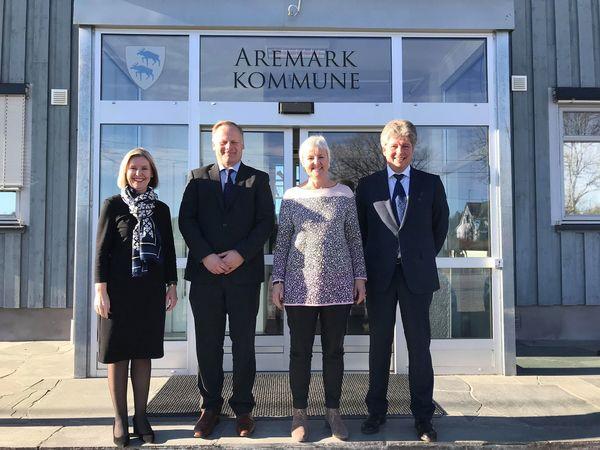 Valgerd Svarstad Haugland i Aremark 1