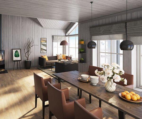 18023 Hafjell - 3d interiør 2