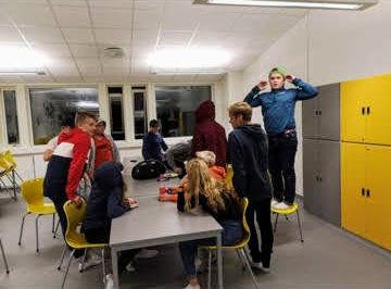 Aremark ungdomsklubb på elevtorget 2