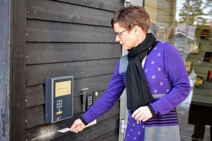 Meråpent bibliotek - Aremark bibliotek - Kathrine Walthinsen (3)