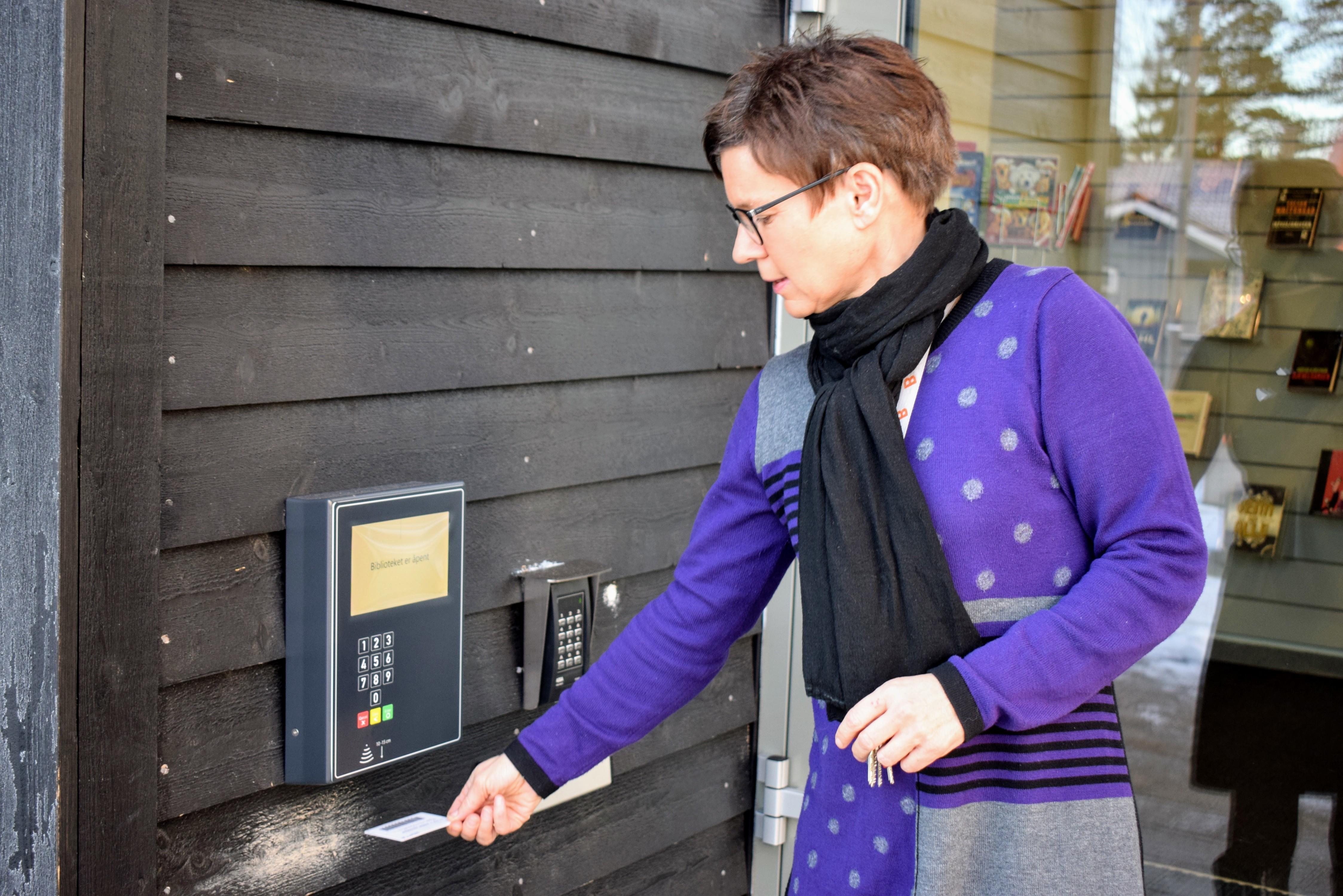 Meråpent bibliotek - Aremark bibliotek - Kathrine Walthinsen (3).JPG