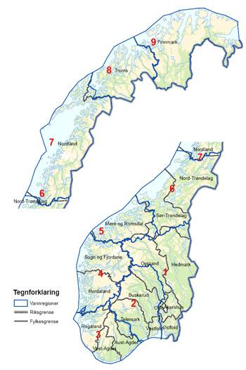 kart over elver i norge Norsk vannmiljø skal bli enda bedre   Hytteavisen kart over elver i norge