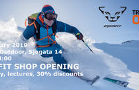 Dynafit shop and test centre opening