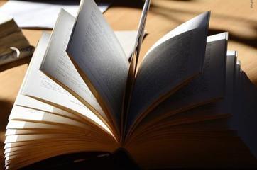 Oppslått bok