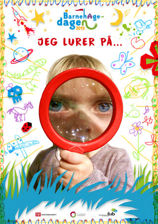 Plakat Barnehagedagen 2019 u tekstfelt