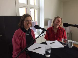 Anne Greve og Birgitte Fjørtoft