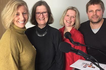 Programledere og gjester podcast