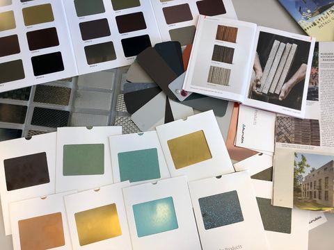 bilde av materialer