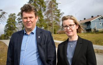 Geir Aarbu og Alice Reigstad foran Fossdal (3)
