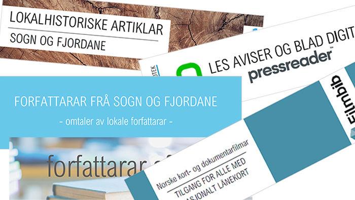 Bilete av bokmerke om digitale tenester laga for utskrift