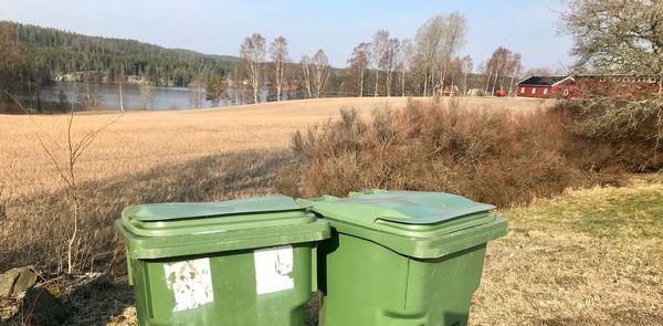 Renovasjon - avfallsbeholdere