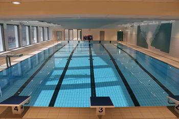 Nytt basseng klart til bruk Foto Arne Veum