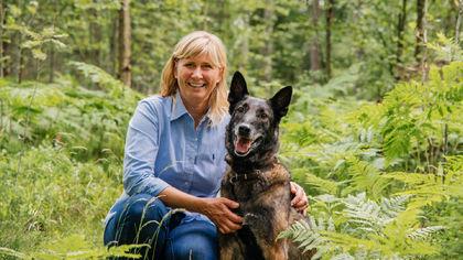 Charlotte Søyland og Hamilton - foto Jonas Lisether