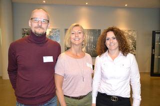 Yngvar Natland, Lou Cathrin Noreen og Elin Refsland FUG
